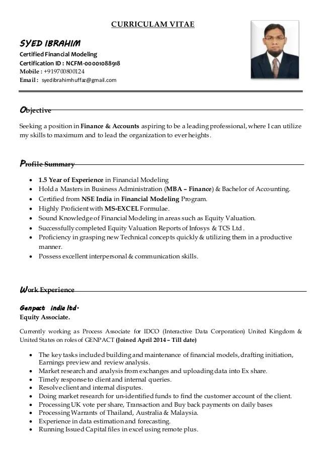 resume upload in genpact