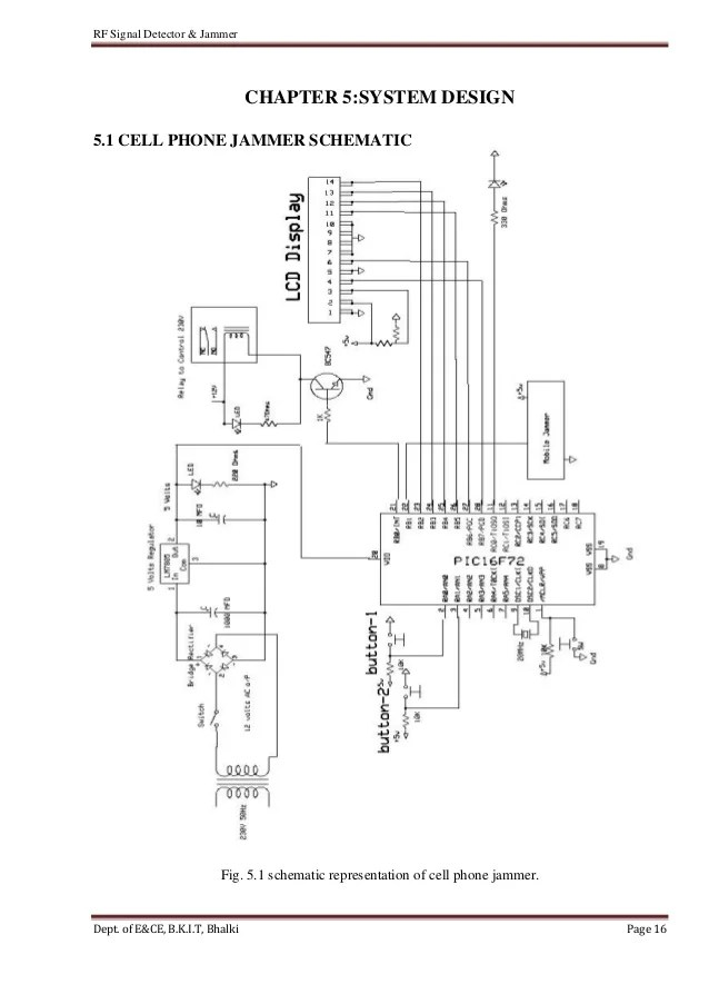 circuit diagram of mobile phone detector auto electrical wiringcell phone detector u0026 jammer