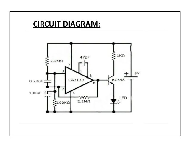 mobile phone detector circuit diagram