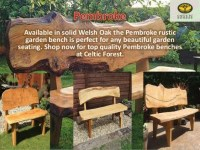 Handmade Wood Garden Furniture