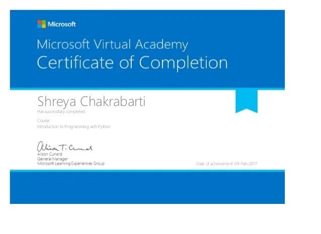 microsoft certificate - Ozilalmanoof