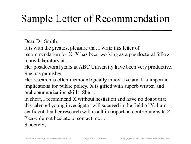 how to write a scientific cover letter