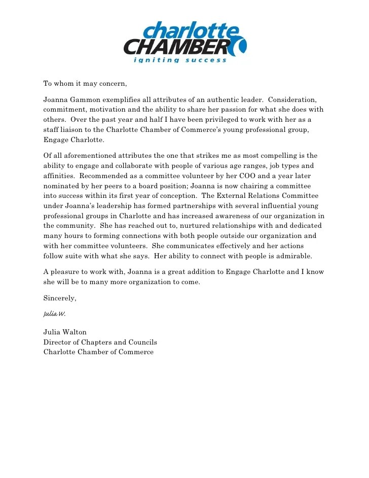 reference letter volunteer work writing a reference letter with examples chamber reference letter