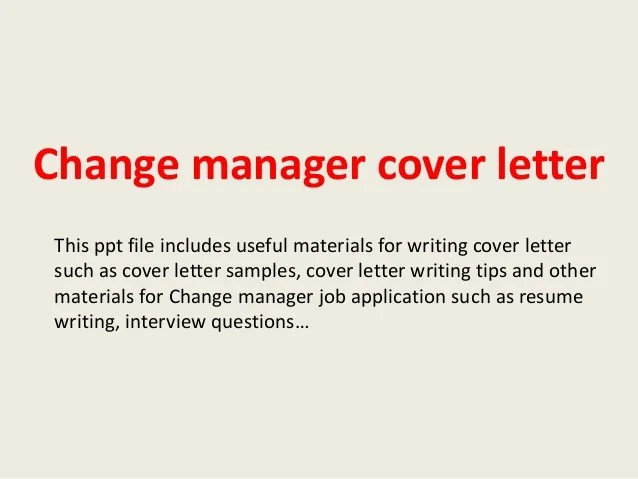 cmc cover letter