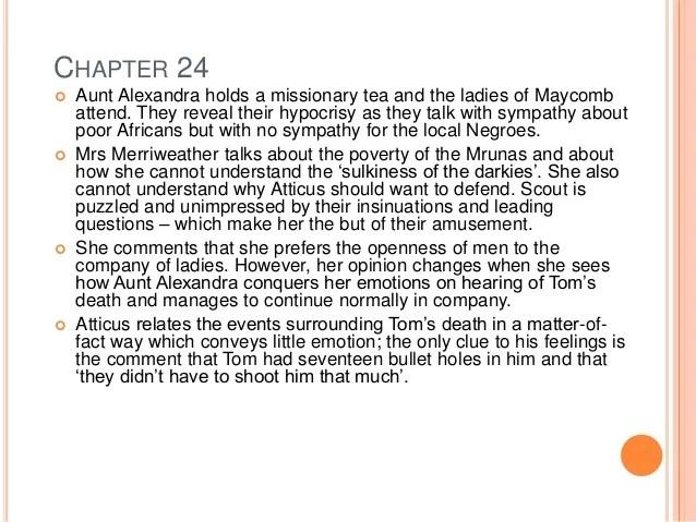 Chapter Summaries For To Kill A Mockingbird