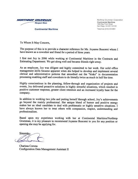 recommendation letter samples for job - Josemulinohouse - recommendation letter sample for work