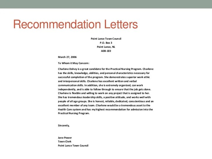 Admission Essay Personal Statement Letter Of Charlene Dohey