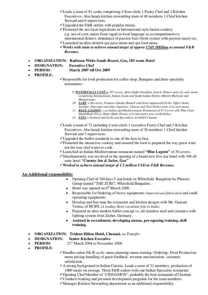 pizza maker resume - Intoanysearch