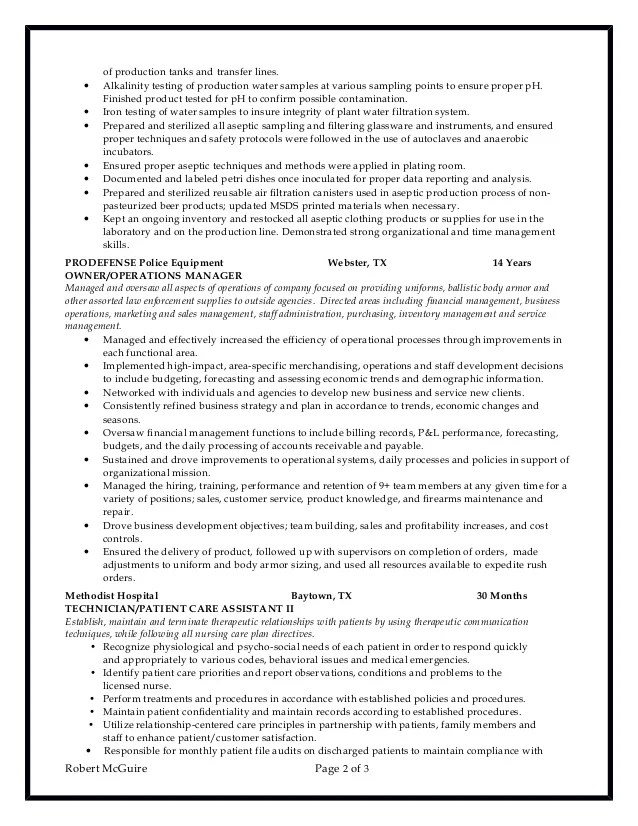 chemistry lab assistant resume - Goalgoodwinmetals