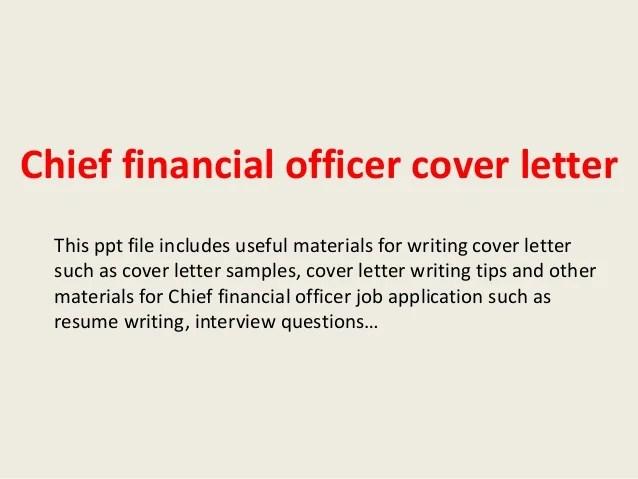 application letter for finance officer