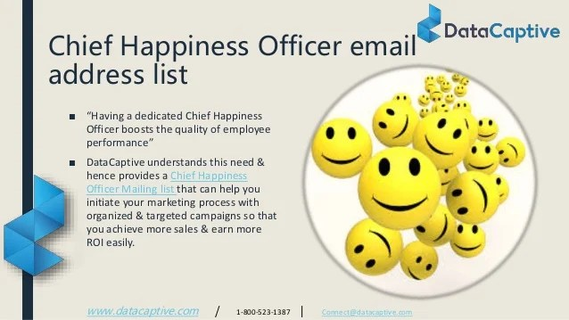 cv chief of happiness officer