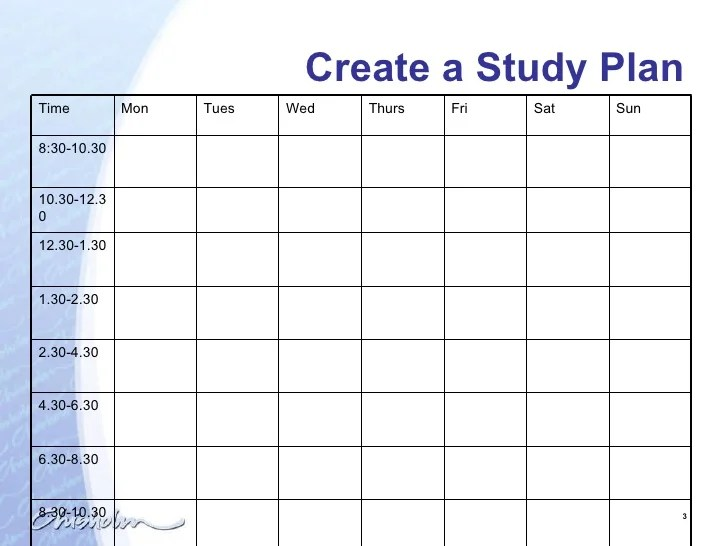 Creating A Weekly Calendar In Excel Free Excel Calendar Templates Smartsheet Less Talk Chisholm Study Plan Presentation 1