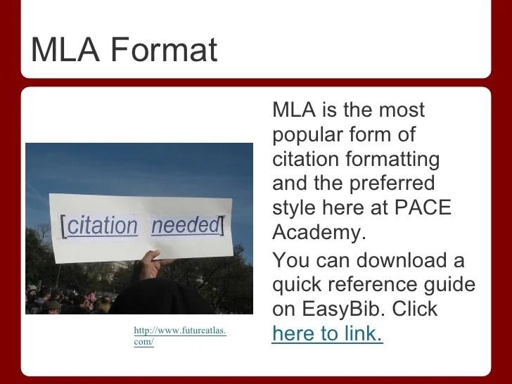 mla format download