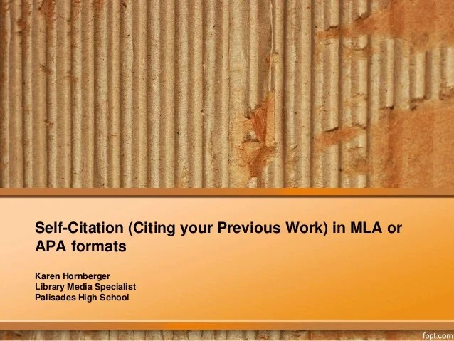 citing work in mla format