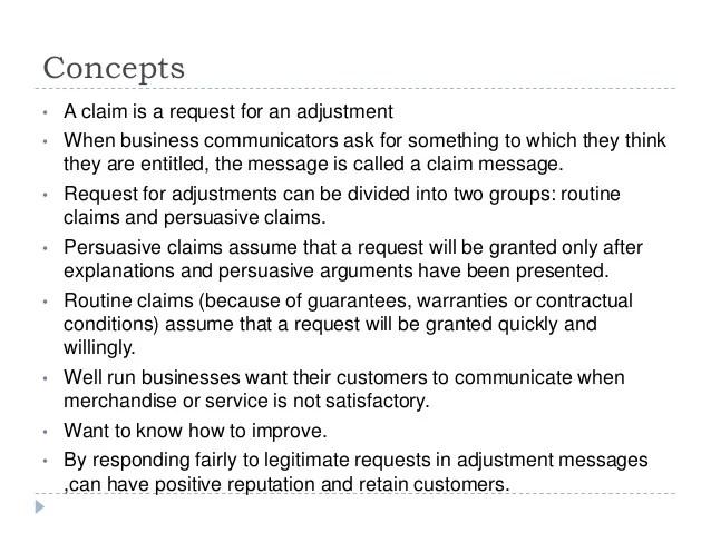 claims letter - Pinephandshakeapp