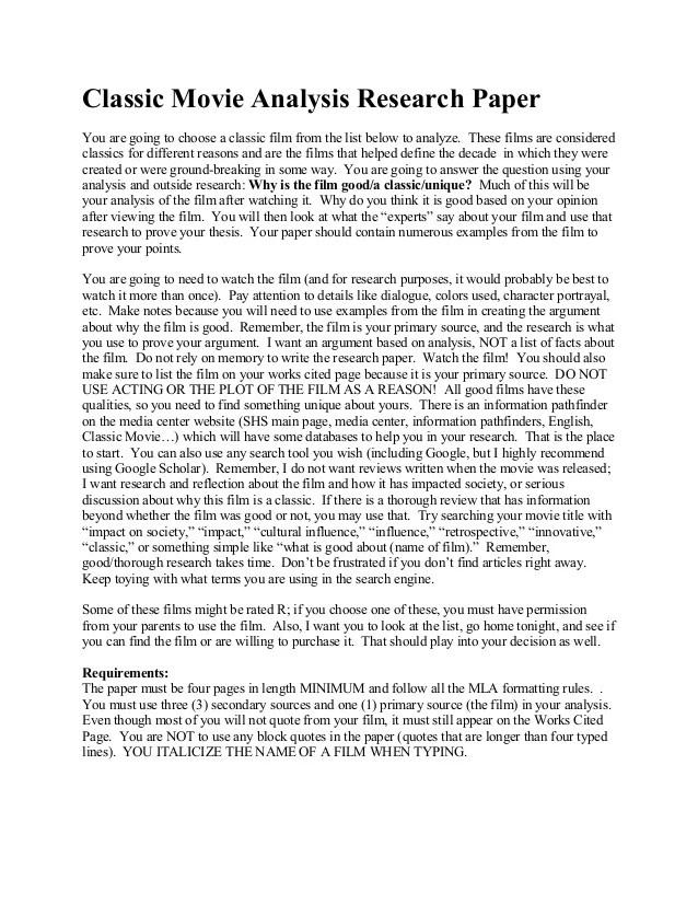 movie essay example - Ukranagdiffusion
