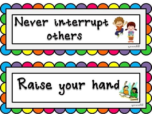 Classroom Manners Essay Help