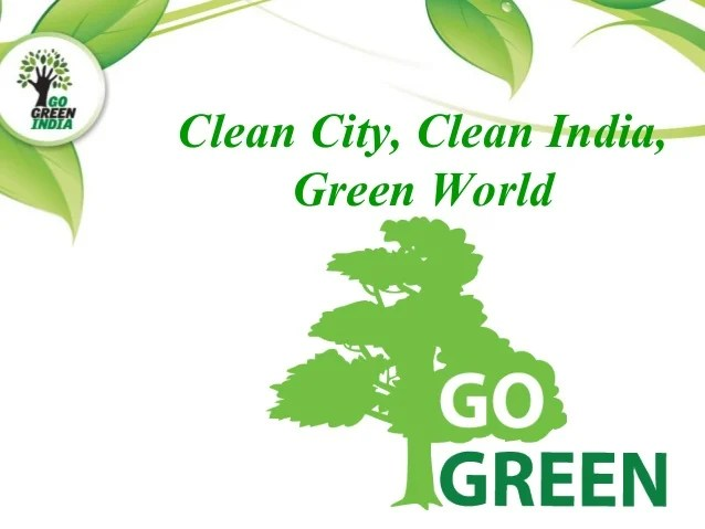 Clean City Clean India And Green World