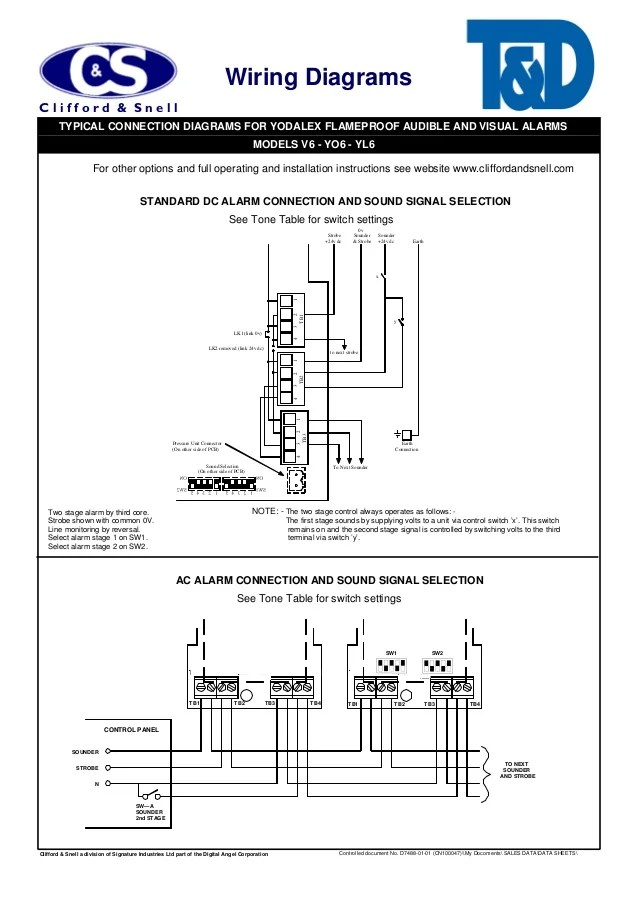 cl a fire alarm system wiring diagram