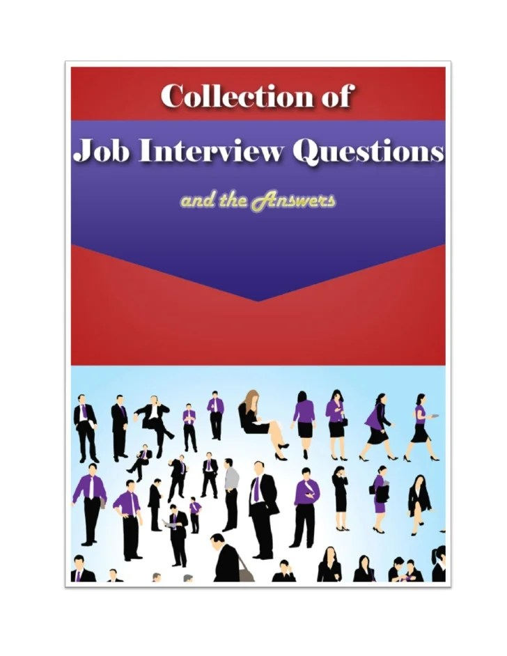 5 Common Education Interview Questions 6 Common Interview Questions For Teachers And How To Collection Of Job Interview Questions And The Answers