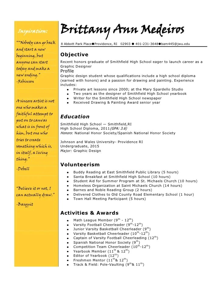 How To Write A College Resume Wikihow College Resume