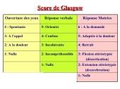 Score De Glasgow Pdf E Formation En M Decine D Urgence
