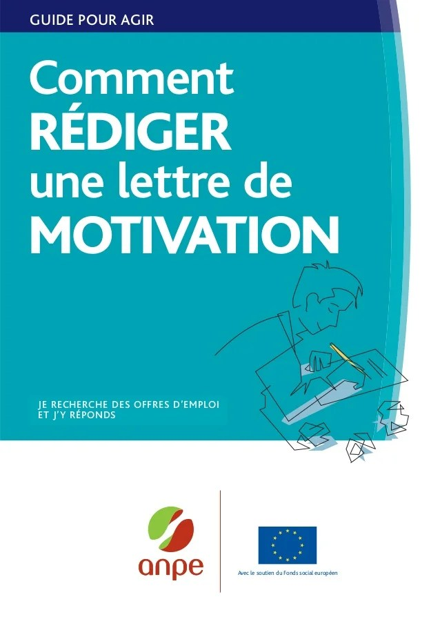 comment rediger cv et lettre de motivation