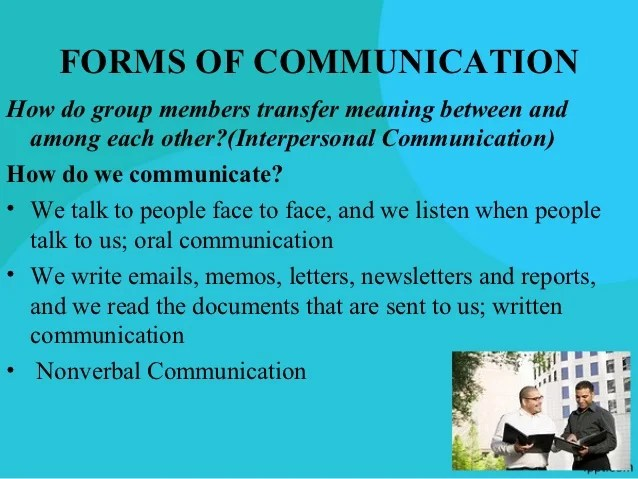 Effective Organizational Communication