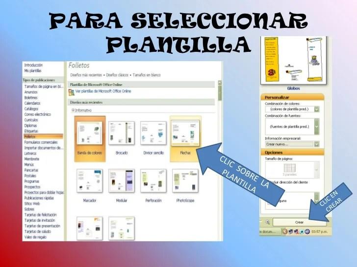 Vistoso Word Plantilla Folleto Gratis Colección - Colección De - formatos para gafetes