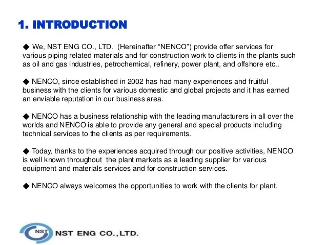 Company Profile Sample Download Free Documents For Pdf Company Profile Nst Eng 140220