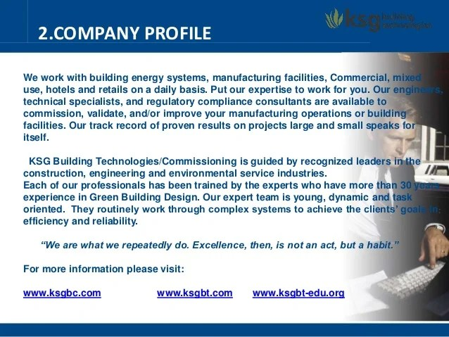 Company Profile Sample 9 Free Templates In Pdf Word Company Profile Ksg Building Technologies