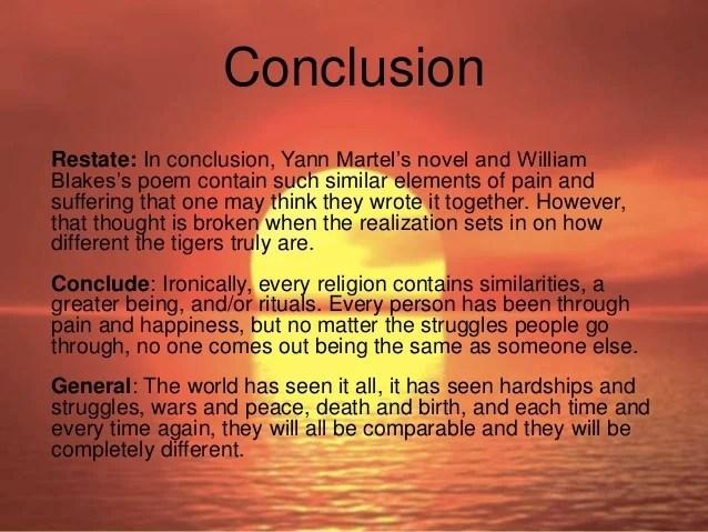 comparison essay example