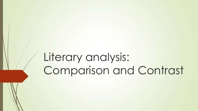 writing a literary essay