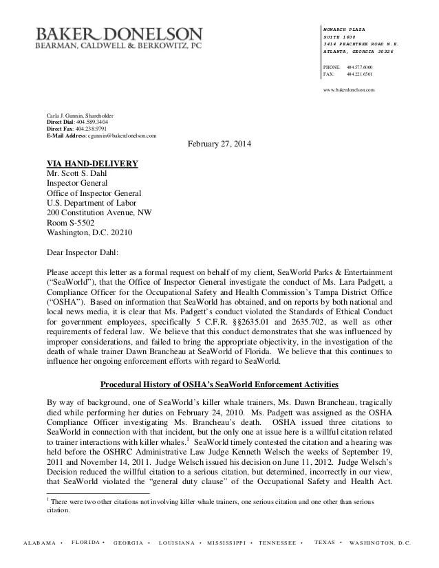 Formal Complaint Letter Sample On Co Worker – Formal Complaint Letter