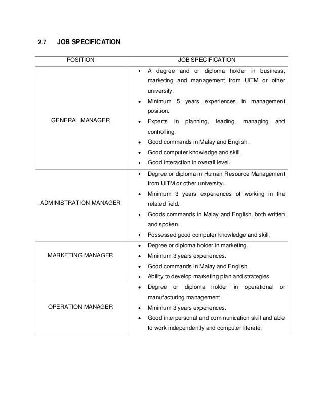 New Job Position Proposal Sample Proposals Ent300 Business Proposal