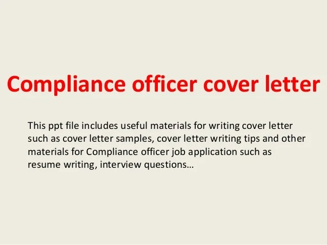compliance cover letters - Josemulinohouse - aml officer sample resume