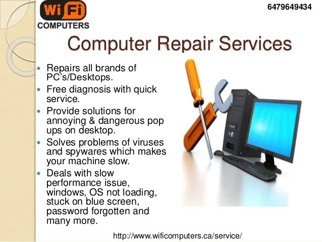 laptop repairing service - Ozilalmanoof - laptop repair sample resume