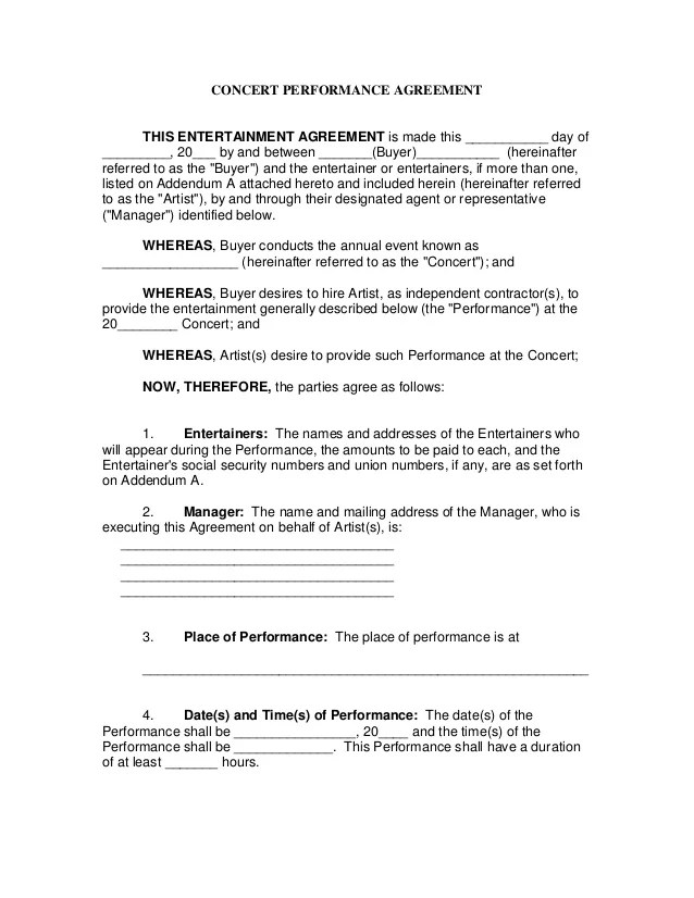 performance contract - Boatjeremyeaton