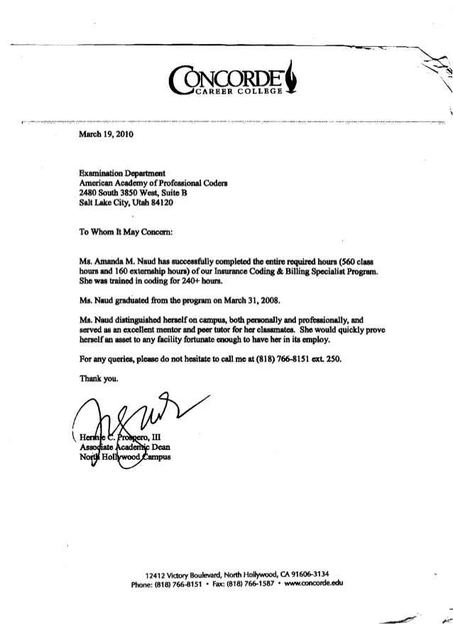 Letter To School Dean | Cover Letter Internship Information Technology