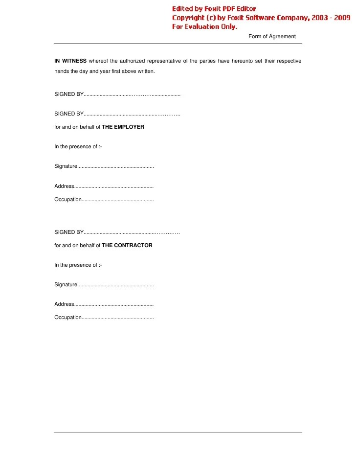 Contract Cancellation Letter Conditions Of Contract