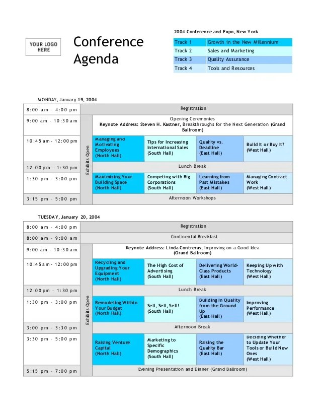conference meeting agenda template - Alannoscrapleftbehind - Agenda Templates