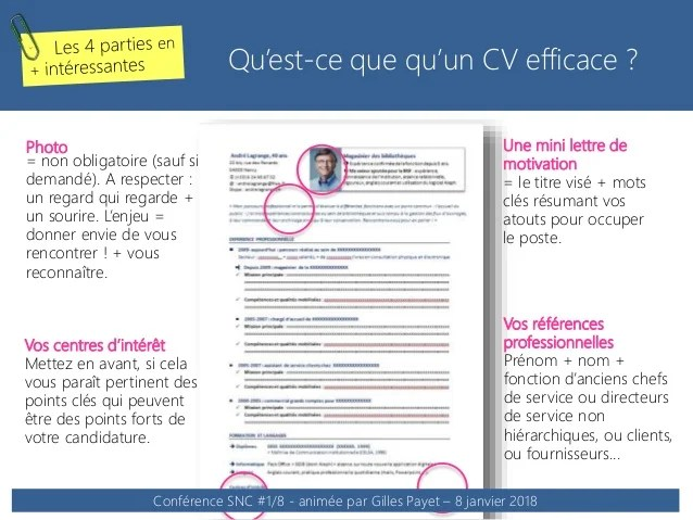 excellente aisance informatique cv