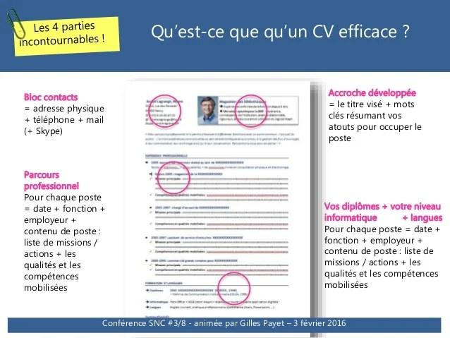liste competences cles cv