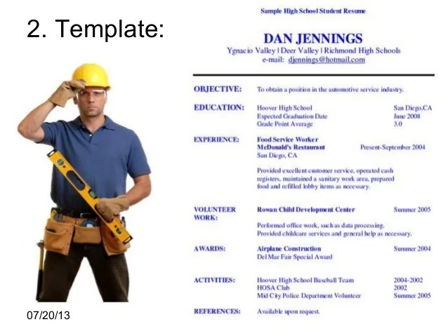 Construction Job Resume Samples - sarahepps -