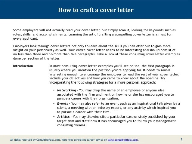 Cover Letter Sample Mckinsey | Sample Resume For Experienced ...