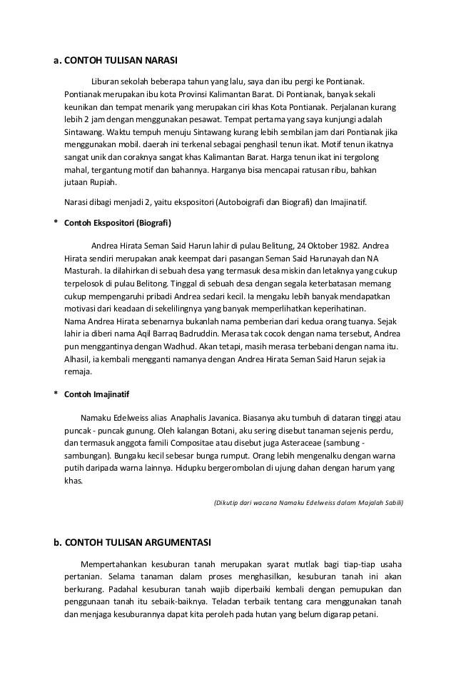 Contoh Teks Eksposisi Tentang Ekonomi Contoh Teks Eksposisi Lengkap Dengan Strukturnya Info Contoh Teks Deskripsi Bahasa Indonesia