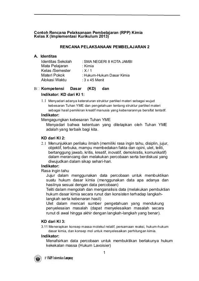 Contoh Rpp Kurikulum Sd Kls 1 Perangkat Pembelajaran Rpp Kurikulum 2013 Sd Kelas 2 Pembelajaran Rpp Kimiakelas X Implementasi Kurikulum 2013rencana
