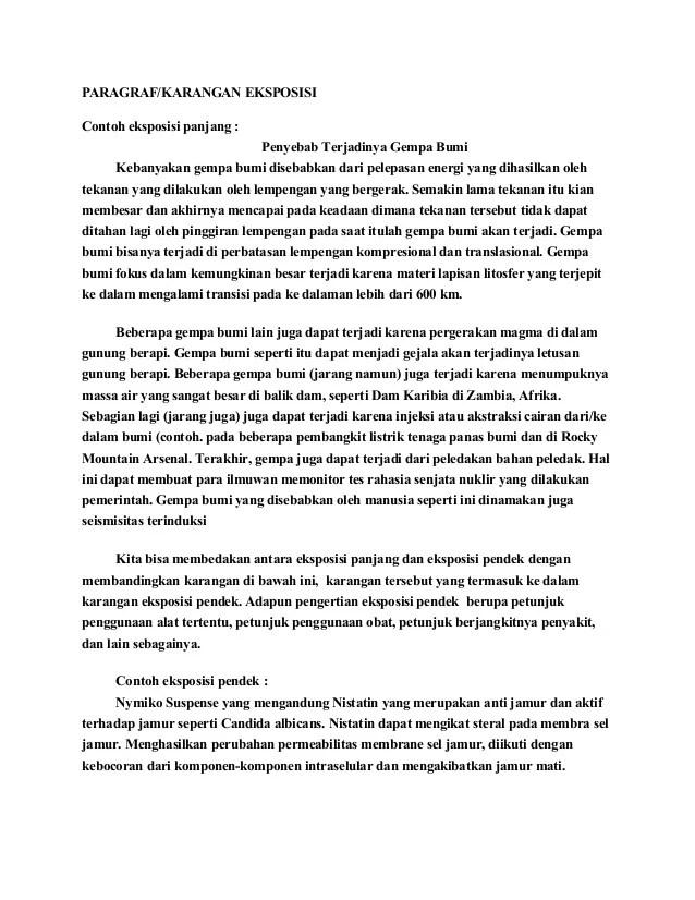 Paragraf Eksposisi Tentang Lingkungan Hidup Bahasa Indonesia Kelas Vii Smp Kurikulum 2013 Download Image Contoh Karangan Eksposisi Bahasa Indonesia Pc Android
