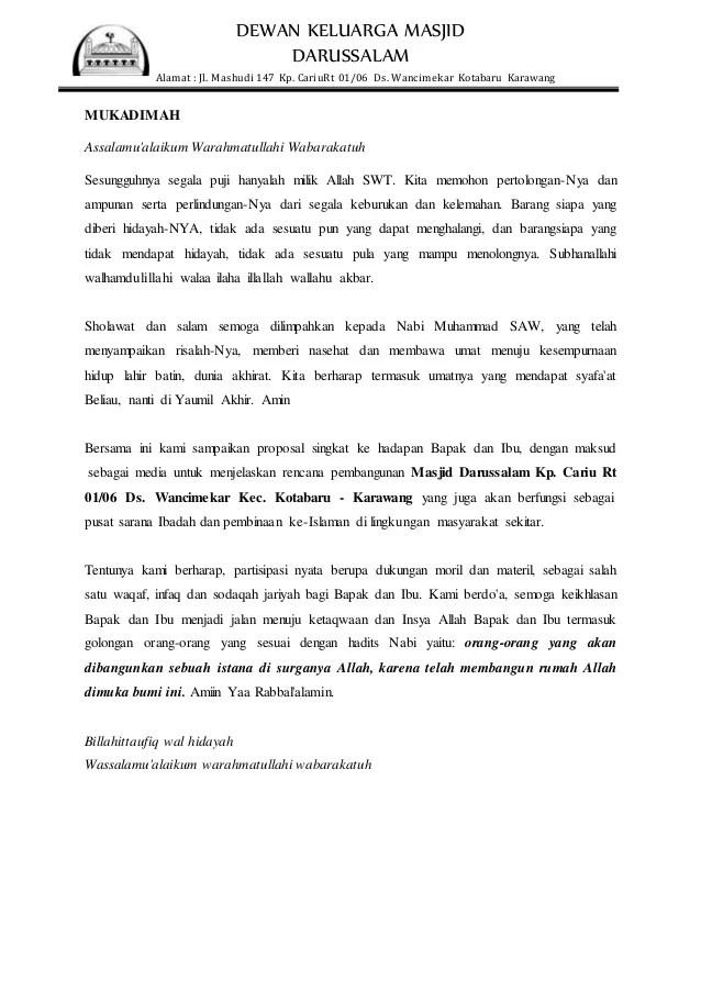 Judul Proposal Kesehatan Masyarakat Contoh Proposal Pkm Kewirausahaan Slideshare Proposal Pembangunan Masjid 1275 X 2100 Png 44kb Contoh Proposal