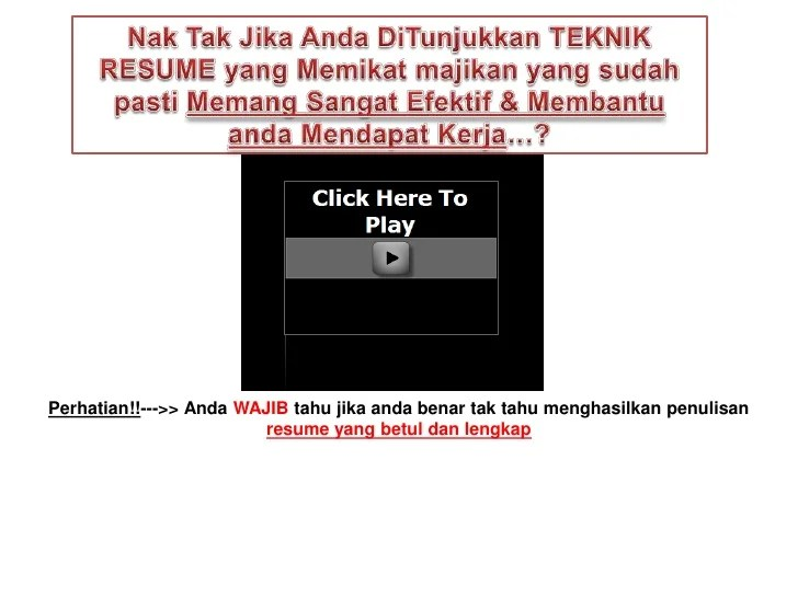 resume format kerajaan cv resumes maker guide